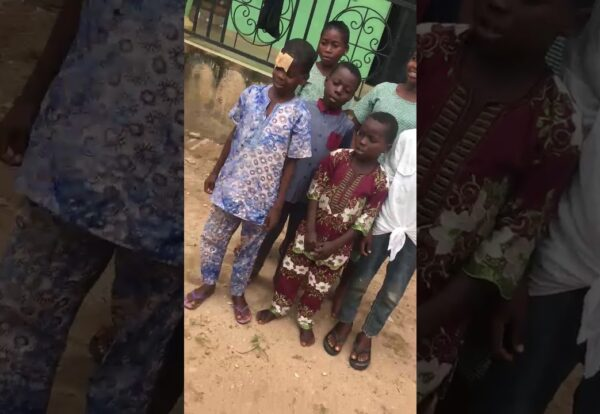 Children at the orphanage IDP Center in Benin City, Nigeria