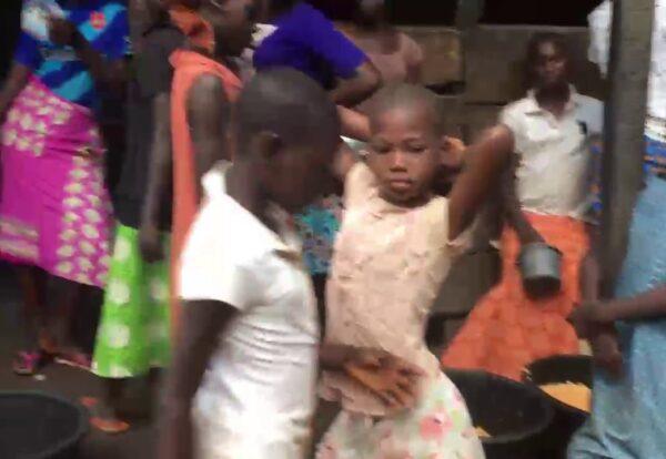 Orphans At IDP Camp in Benin City, Nigeria